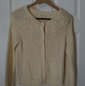 J. Crew Wool Cardigan Sweater
